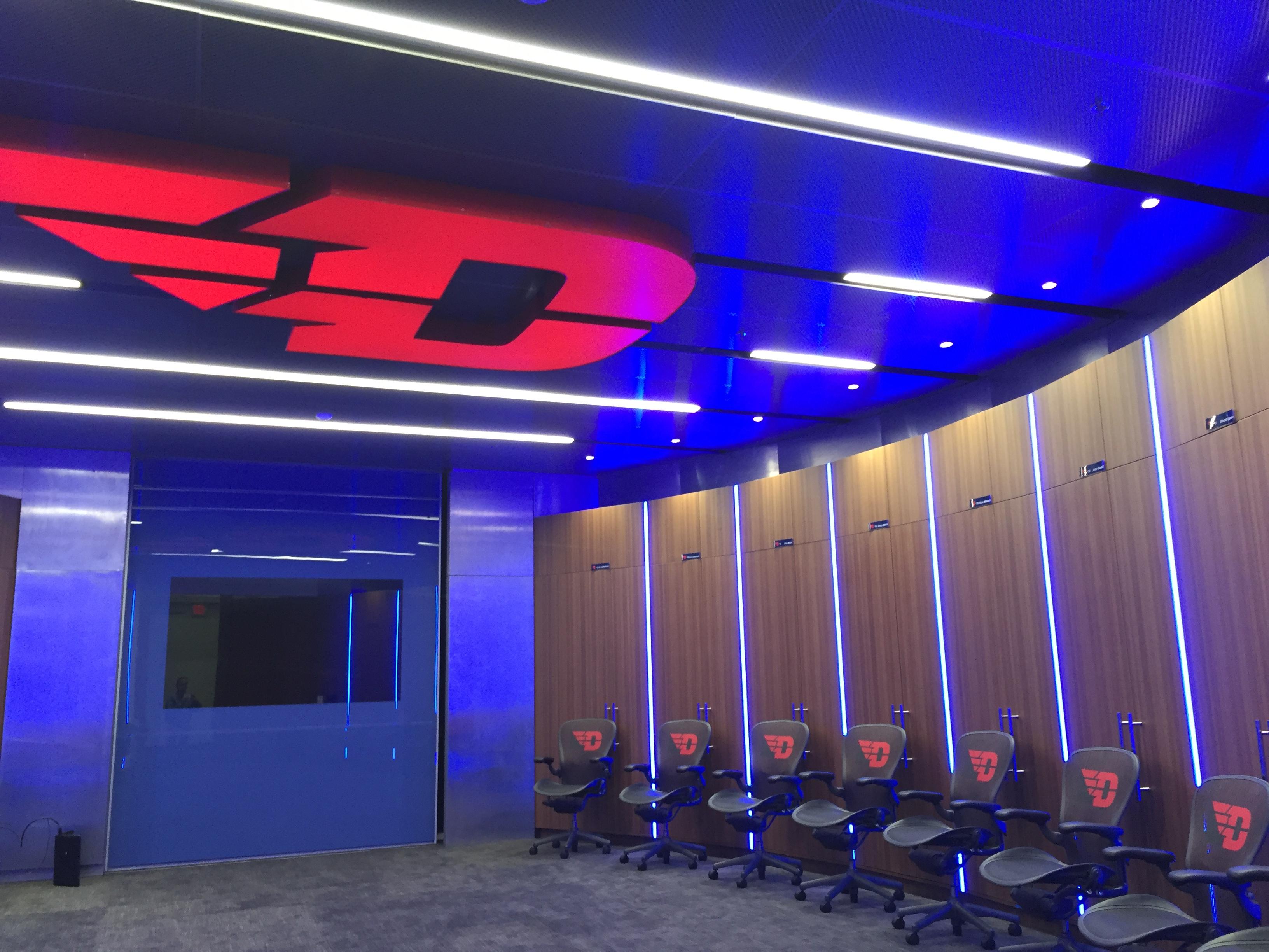 athletics locker room ohio valley av