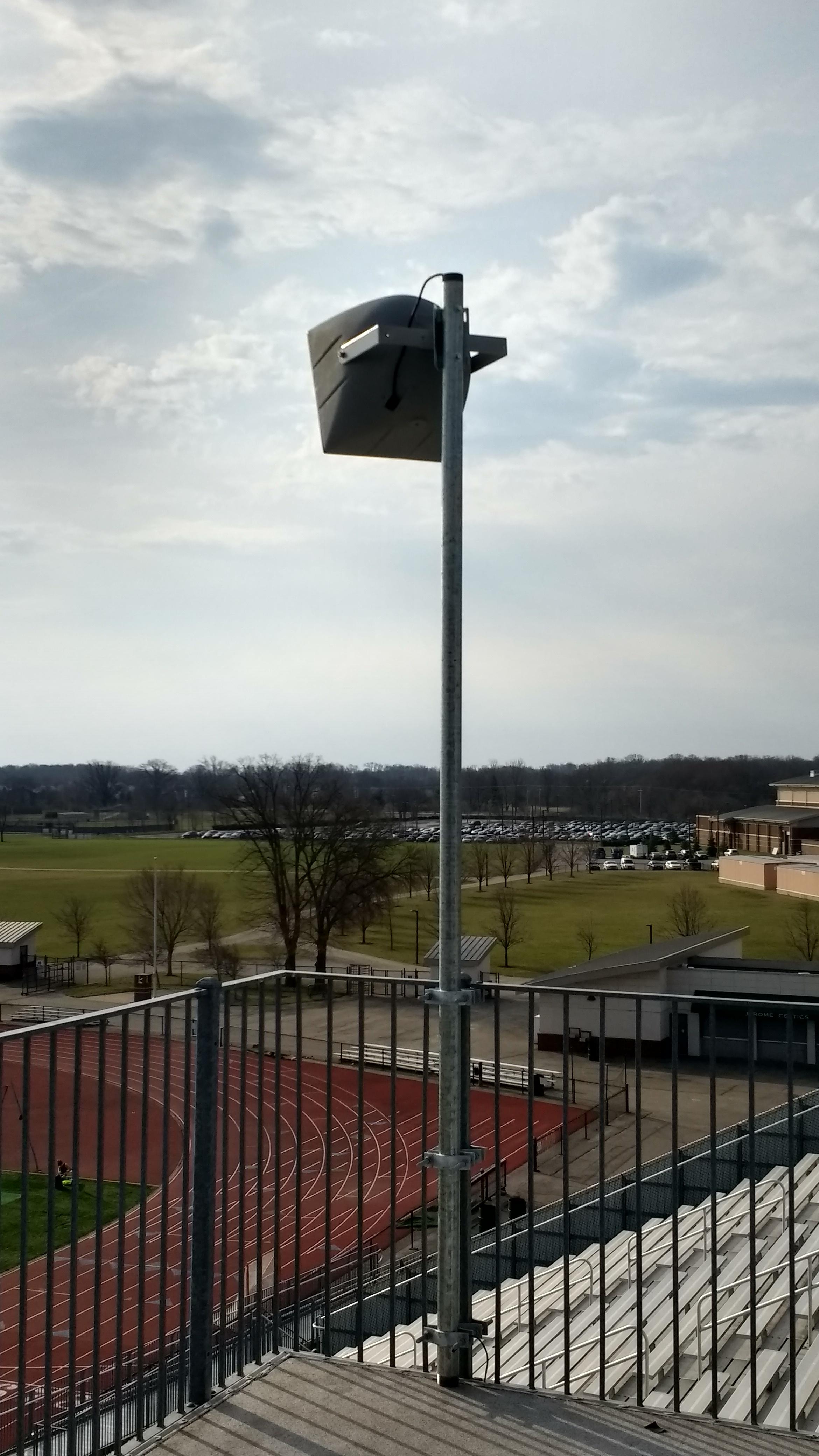 High School Stadium Sound System Ohio Valley Av